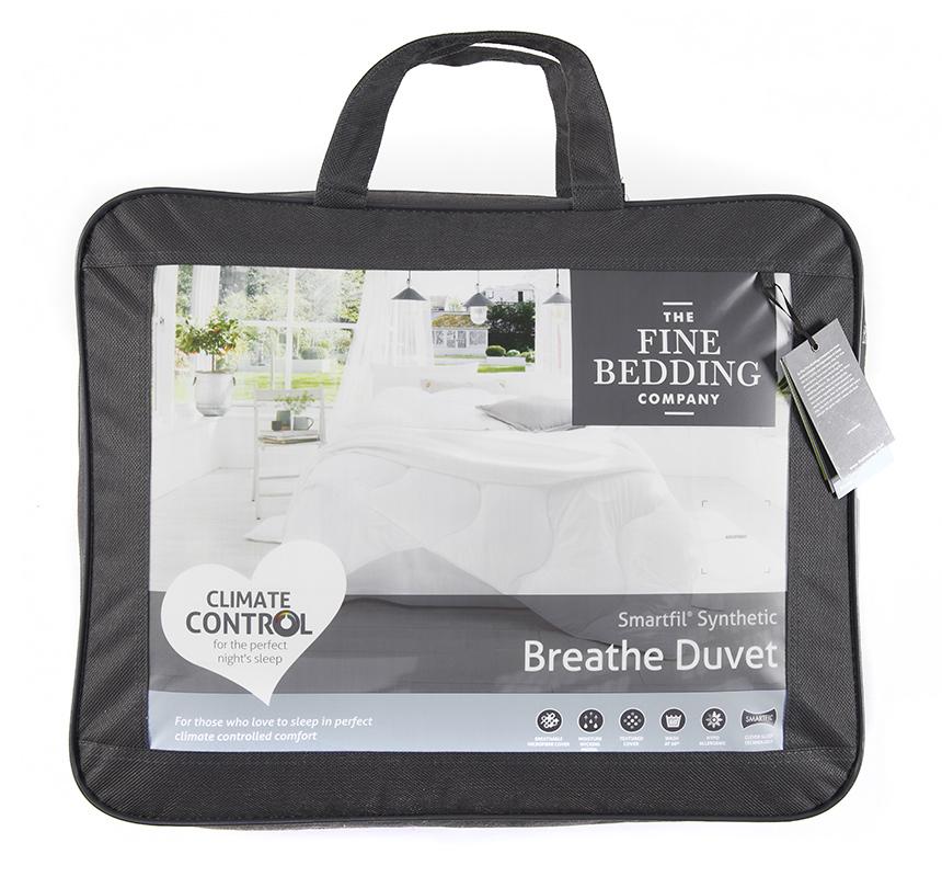 The Fine Bedding Company 13.5 Tog Smartfil Synthetic Breathe Duvet