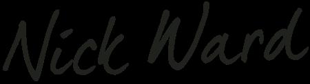 Nick Ward signature