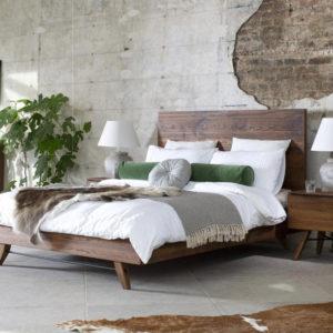Baker Furniture Rimini Oak Bedframe
