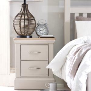 Baker Furniture Tenby Painted Bedside Cabinet
