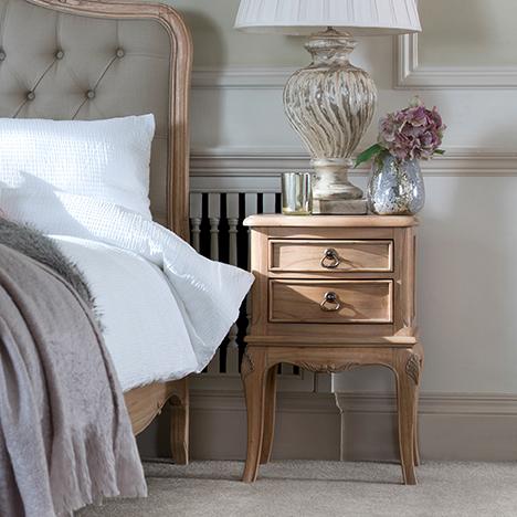 Baker Furniture Limoges 2 Drawer Bedside