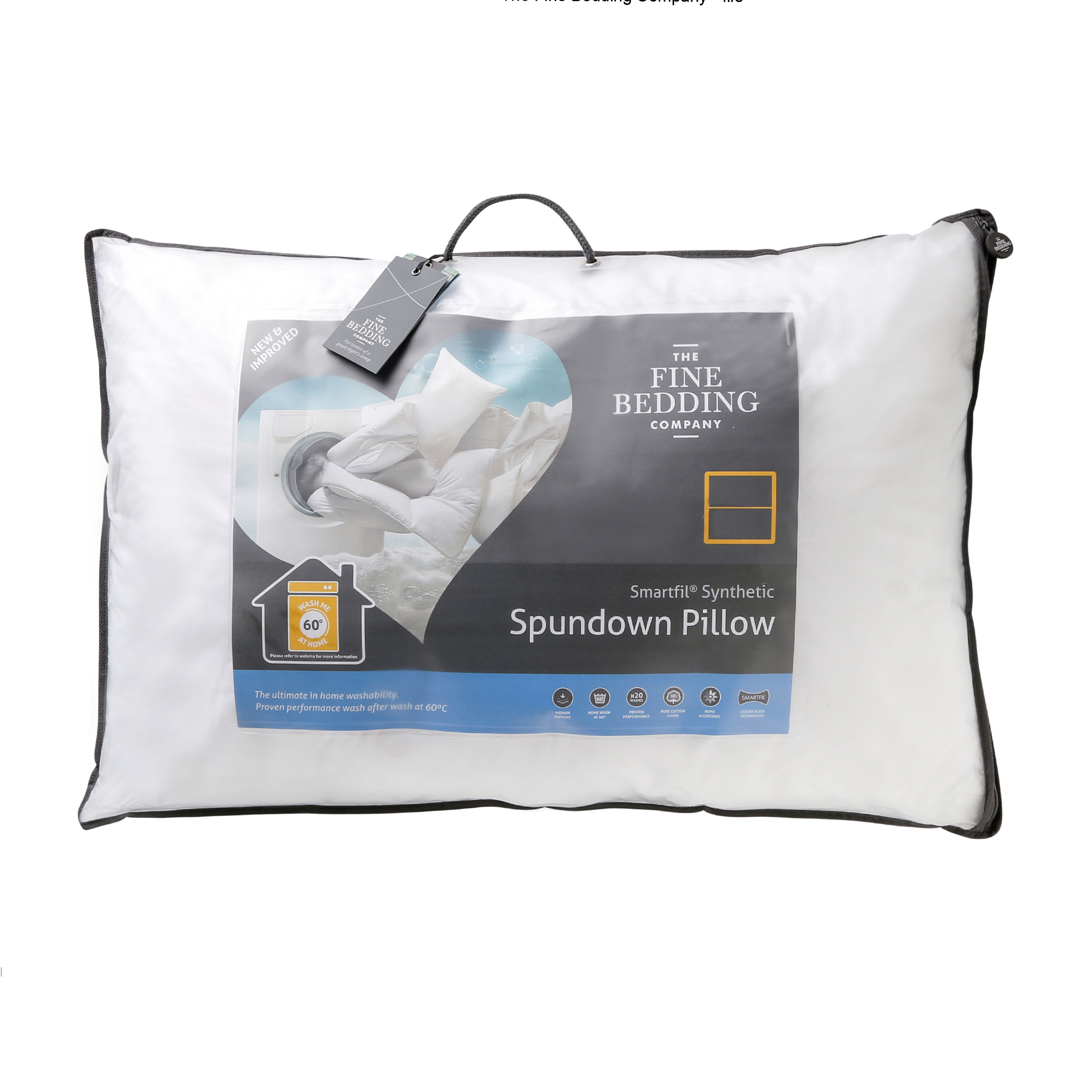 The Fine Bedding Company Natural Fill Spundown Pillow