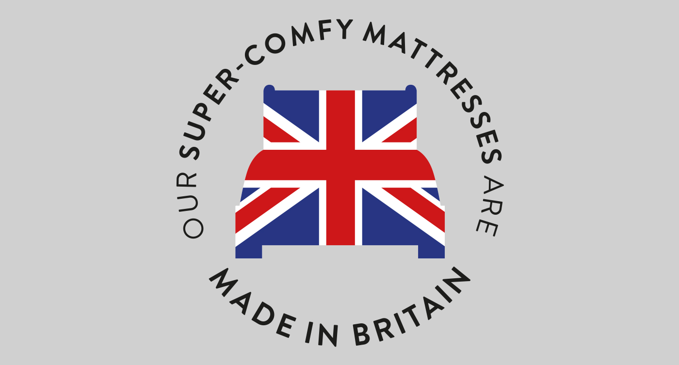 Proud to support British manufacturing!