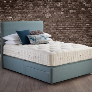 Hypnos Wool Origins 6 Mattress with Pocket Sprung Divan Base (30% OFF)