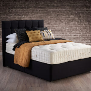Hypnos Wool Origins 8 Mattress with Sprung Divan Base (30% OFF)