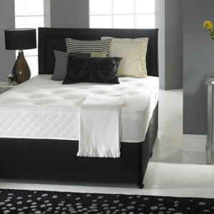 Deep Sleep Silk 1000 Pocket & Memory Foam Platform Top Divan Set with Drawers (40% OFF)